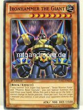 Yu-Gi-Oh 1x ironhammer the Giant - - - ha07 - - - Super Rare