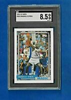 1992-93 TOPPS #362 SHAQUILLE O'NEAL 92 DRAFT PICK SGC 8.5 NM-MT + MAGIC