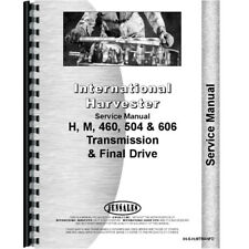 New International Harvester 504 Tractor Service Manual