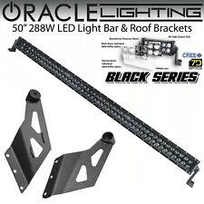 "ORACLE Black Off Road 50"" LED Light Bar & Roof Brackets for 02-08 Dodge Ram *All"