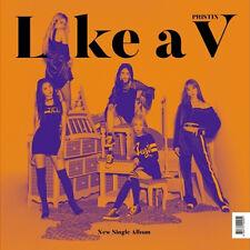 PRISTIN V [LIKE A V] Single Album CD+PhotoBook+2p PhotoCard+V Card K-POP SEALED