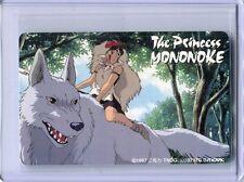 "Studio Ghibli ""The Princess Mononoke"" Japanese Phone Card Unused Rare!"