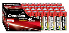 120 x Camelion AA Batterie LR6 1,5V Plus Alkaline High Energy lose Rot Box
