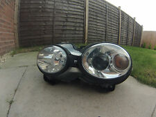 Genuine Hella Jaguar X-Type P/S Headlight Light fitted with new adjusters PA6