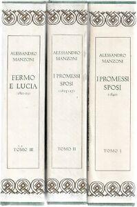 Manzoni A. TUTTE LE OPERE II I PROMESSI SPOSI I-II-III I Classici Mondadori 1964