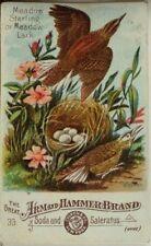 Arm & Hammer Soda & Saleratus Meadow Starling/Lark Nest Eggs No.33  P44