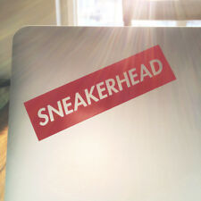 SNEAKERHEAD Stickers | Sneaker Head Hype Beast Decal Nike Supreme Adidas Yeezy