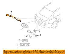 KIA OEM 09-10 Optima Trunk Lid-Emblem Badge Nameplate 863102G600