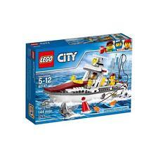 60147 FISHING BOAT lego city town SEALED legos set NEW floats charter shark nisb