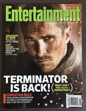 Entertainment Weekly Christian Bale Terminator Issue No label! 2009!