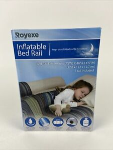 Royexe Inflatable Travel Portable Bed Rail Bumper Safety Guard New Open Box