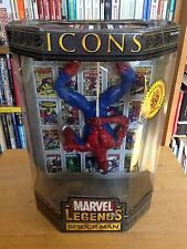 "2006 Toy Biz Marvel Legends Icons 12"" Upside Down Spider-man Spiderman Figure"