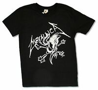 Metallica Scary Guy And Bones Black T Shirt New Official
