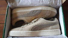 Suede Classic Puma Mens Fashion Sneakers Pale Khaki/Chinilla SIZE 5.5 US NEW