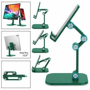 Universal Foldable Cell Phone Tablets Desktop Stand Desk Holder Mount Cradle