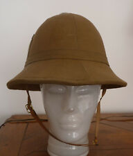 Casque colonial officier italien d'époque seconde guerre mondiale, WW2
