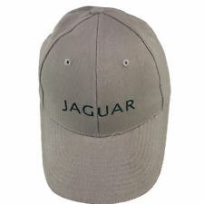 Jaguar Khaki Baseball Cap Embroidered Cotton Hat Adjustable Great Britain Flag