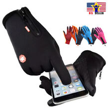Protective Touch screen Cycling Anti Slip Water proof Sports Warm Gloves Men USA