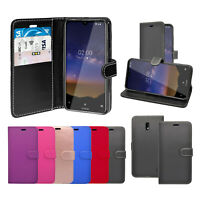 Case For Nokia 2.2 Wallet Flip PU Leather Stand Card Slot Pouch Phone Cover