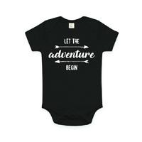Let The Adventure Begin Baby Bodysuit, Pregnancy Announcement Photo Prop