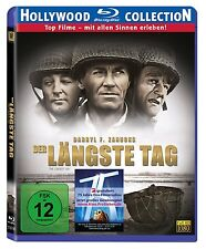 DER LÄNGSTE TAG (Sean Connery, John Wayne, Robert Mitchum) Blu-ray Disc NEU+OVP