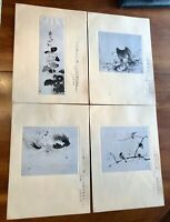 Vintage Japanese Prints Collection of 31 Signed                    LS0497