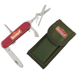 SCOUT Kindertaschenmesser mit Etui  Taschenmesser Happy People 19316