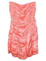 Mulberry Ruffle Strapless Dress