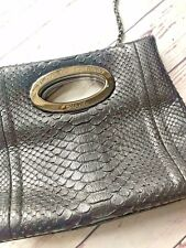 £5000 RARE Coco Chanel Python Skin Handbag With Chain Shoulder Strap, Chanel 31