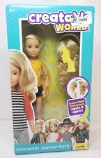 Creatable World Character Starter Pack CS-414, Blonde Doll with Blue Eyes, Wavy