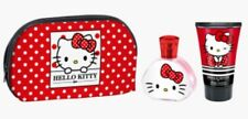 Hello Kitty Cosmetics Wash Bag With Body Lotion & Perfume Beauty Gift Set 💝