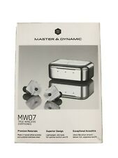 Master & Dynamic MW07 Wireless Earphones New Sealed White Marble