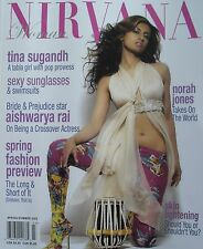 TINA SUGANDH  NORAH JONES  AISHWARYA RAI Spring/Summer 2005 NIRVANA WOMAN  New!