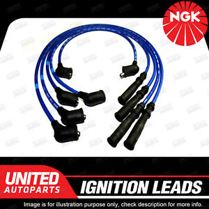 NGK Ignition Lead Set for Nissan 1600 180B 200B Bluebird Nomad C22 Stanza A10