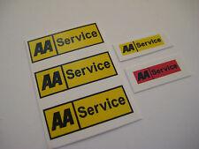 Dinky 412 -  AA Bedford Van Stickers - B2G1F