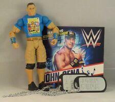 WWE, John Cena Ultimate Fan Pack, Figure DVD, Dog Tags, wrestling, 2015