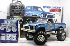Tamiya Bruiser 1/10 RC Truck, Pro Built, w/ Electronics, Animated Driver, LED's