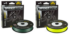 Spiderwire Dura 4 Braid Line Hi-Viz Green or Yellow 150m Spool Fishing