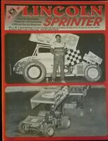 1990 Lincoln Speedway Program Vol 2 #2 Steve Stambaugh Fletcher Steve Smith