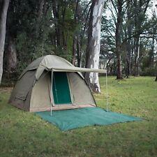 NIB Bushtec Adventure Alpha Kilo 4000 Bow Tent - 6 Person - Canvas Ripstop, $900