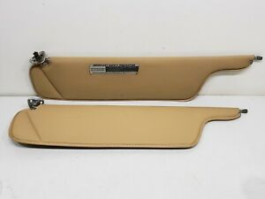 1974 1975 1976 Lincoln Mark IV Sun Visor Continental Mark BEIGE Original USED