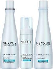 NEXXUS HYDRA-LIGHT WEIGHTLESS MOISTURE, SHAMPOO, CONDITIONER, CONDITIONING FOAM