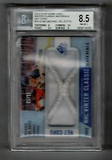 2013-14 UD SP Game Used Michael Del Zotto Net Cord #'D 01/25 BGS 8.5 NM-MT+ 1/1