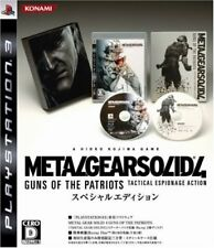 UsedGame PS3 Metal Gear Solid 4: Guns of the Patriots Special Edition JP Import