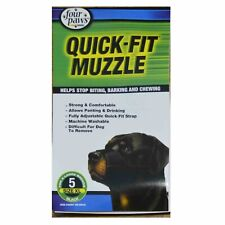 Four Paws Quick Cloth Fit Dog Muzzle size 5 for XL large dogs