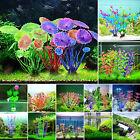 Artifical Grass Aquarium Decor Water Weeds Ornament Underwater Plant Fish Tank