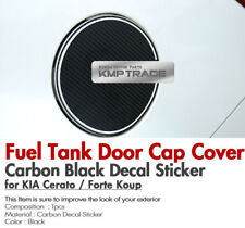 Fuel Tank Door Cap Carbon Decal Sticker Cover for KIA 10 - 13 Cerato Forte Koup
