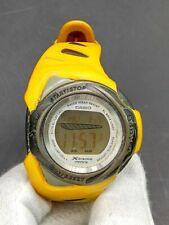 C asio Baby-G BGP-101 X-treme Phys Ladies Yellow Watch 1995 Japan Made Vintage