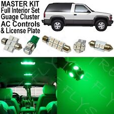 32x Green LED lights interior package + AC & Gauge cluster 1992-1999 Tahoe/Yukon