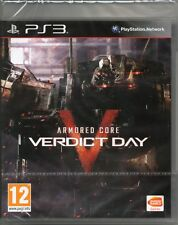 ARMORED CORE V: VERDICT DAY GAME PS3 (armoured 5) ~ NEW / SEALED